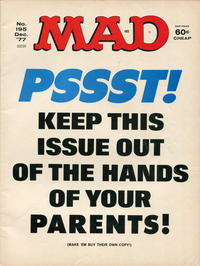 Cover Thumbnail for Mad (EC, 1952 series) #195