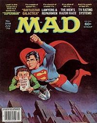 Cover Thumbnail for MAD (EC, 1952 series) #208