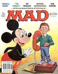 Cover for Mad (1952 series) #239