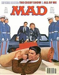 Cover for MAD (EC, 1952 series) #255