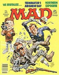 Cover for MAD (EC, 1952 series) #308
