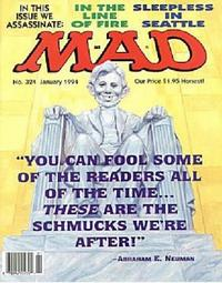 Cover Thumbnail for MAD (EC, 1952 series) #324