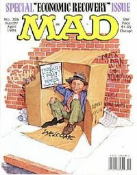 Cover for Mad (1952 series) #326