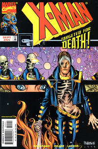 Cover Thumbnail for X-Man (Marvel, 1995 series) #55 [Direct Edition]