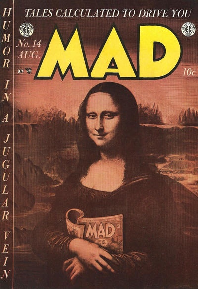 Cover for MAD (EC, 1952 series) #14