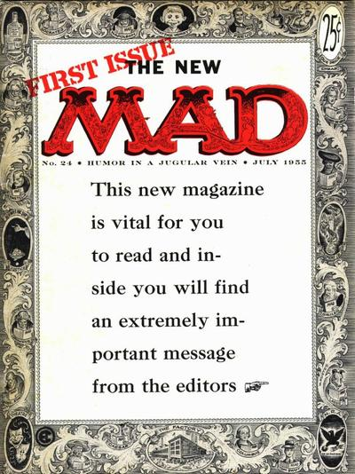 Cover for MAD (EC, 1952 series) #24