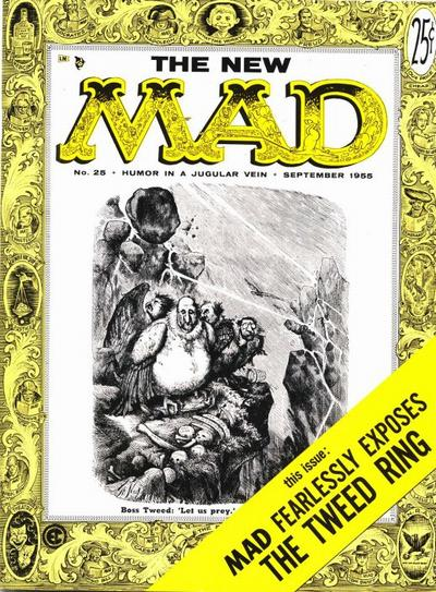 Cover for Mad (1952 series) #25