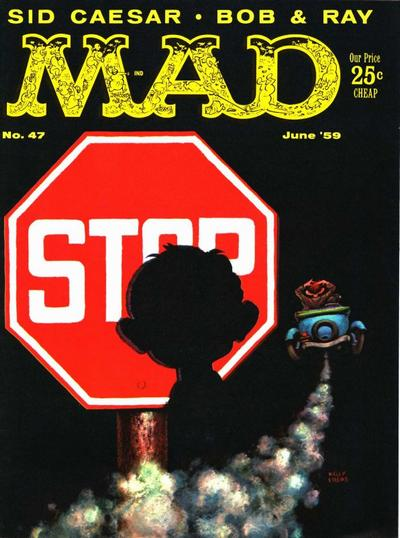 Cover for MAD (EC, 1952 series) #47