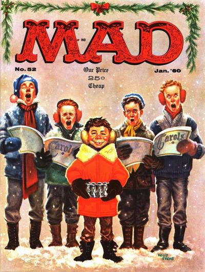Cover for MAD (EC, 1952 series) #52