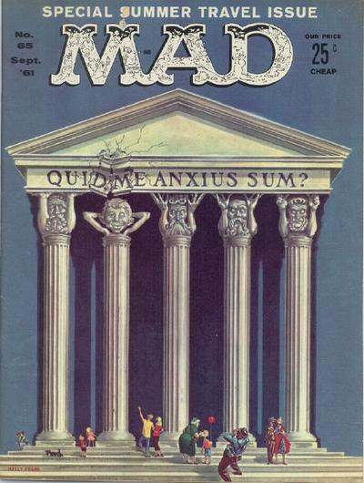 Cover for MAD (EC, 1952 series) #65
