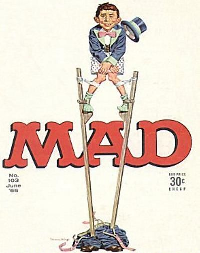 Cover for MAD (EC, 1952 series) #103