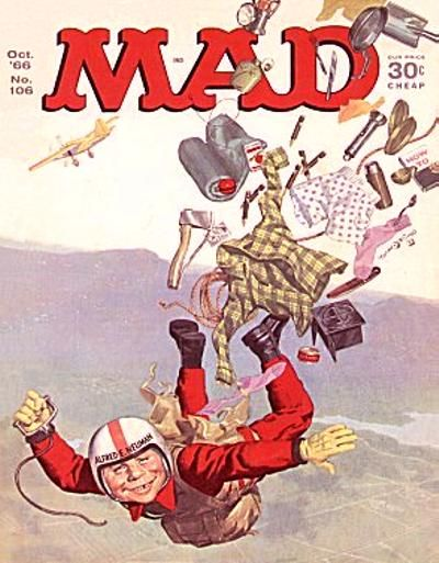 Cover for MAD (EC, 1952 series) #106