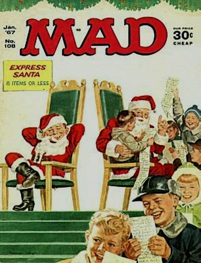 Cover for Mad (1952 series) #108