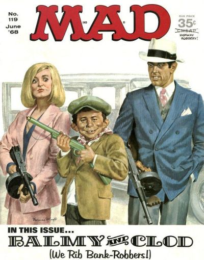 Cover for Mad (1952 series) #119