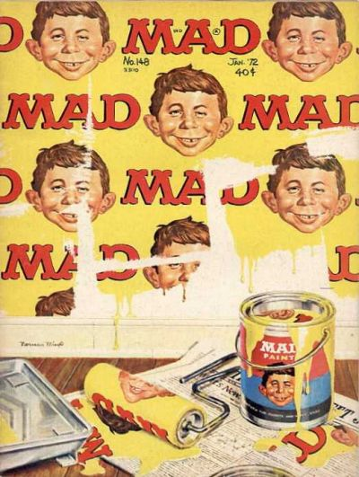 Cover for Mad (1952 series) #148