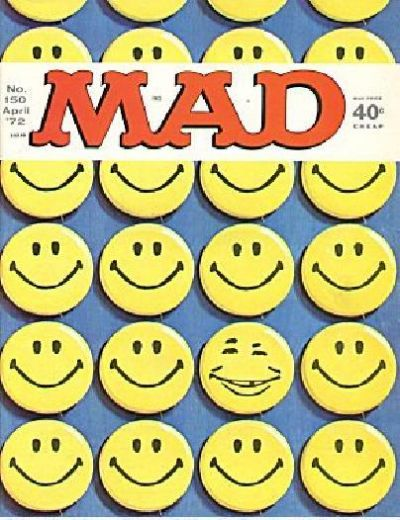 Cover for Mad (1952 series) #150
