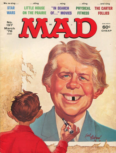 Cover for MAD (EC, 1952 series) #197