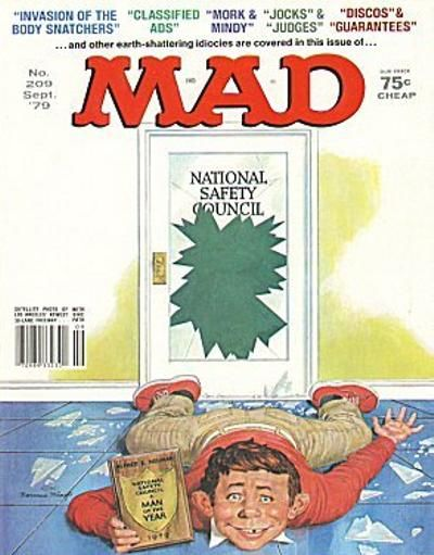 Cover for MAD (EC, 1952 series) #209