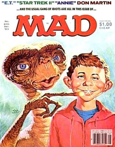 Cover for Mad (1952 series) #236