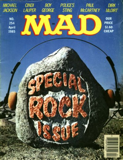 Cover for Mad (1952 series) #254 [$1.60 Cover Price]