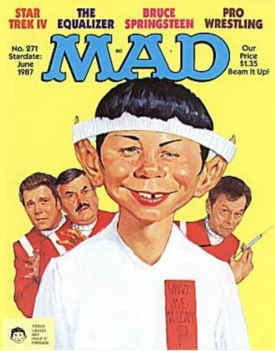 Cover for Mad (1952 series) #271