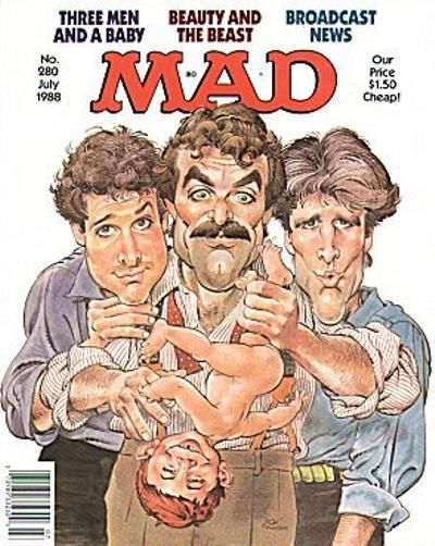 Cover for Mad (1952 series) #280