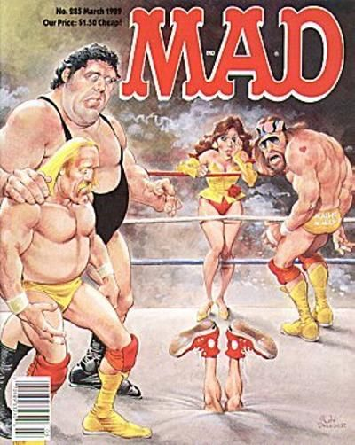 Cover for MAD (EC, 1952 series) #285