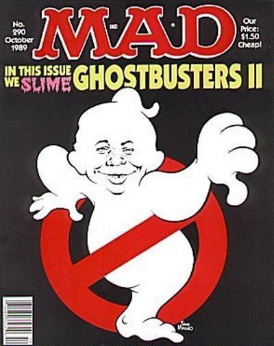 Cover for MAD (EC, 1952 series) #290