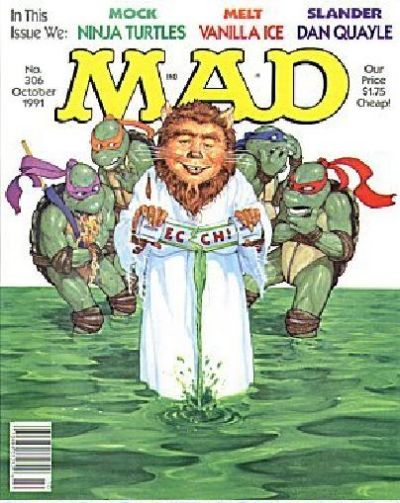 Cover for MAD (EC, 1952 series) #306
