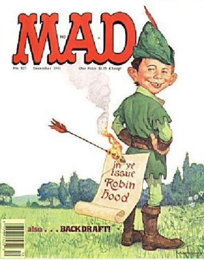 Cover for MAD (EC, 1952 series) #307