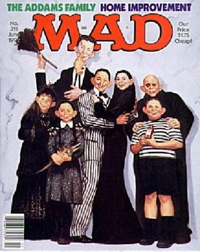 Cover for MAD (EC, 1952 series) #311