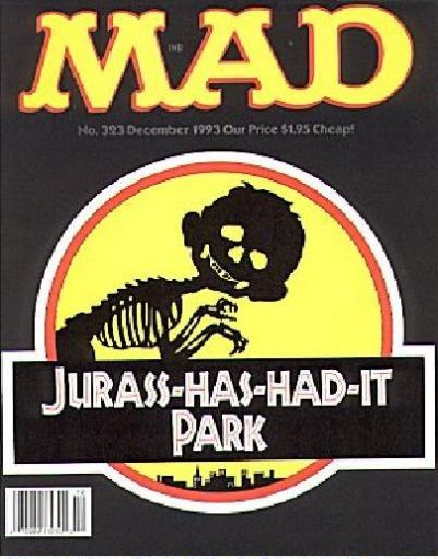 Cover for MAD (EC, 1952 series) #323