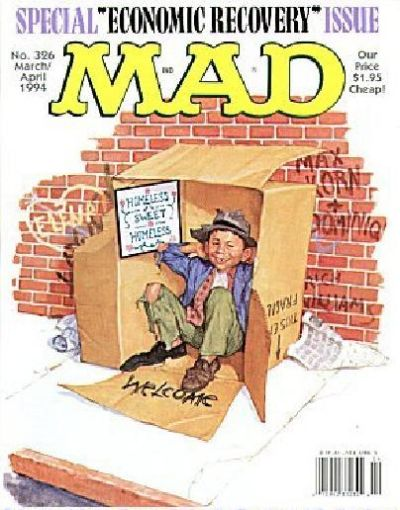 Cover for MAD (EC, 1952 series) #326