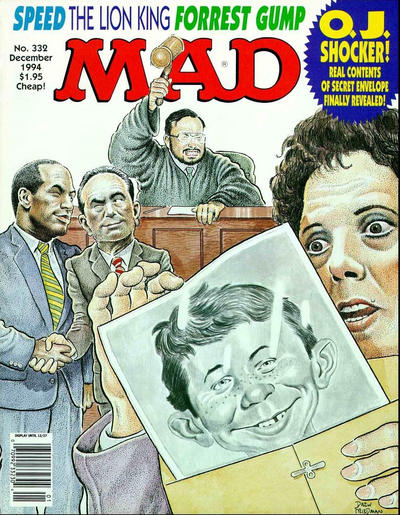 Cover for MAD (EC, 1952 series) #332