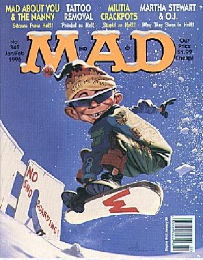 Cover for MAD (EC, 1952 series) #342