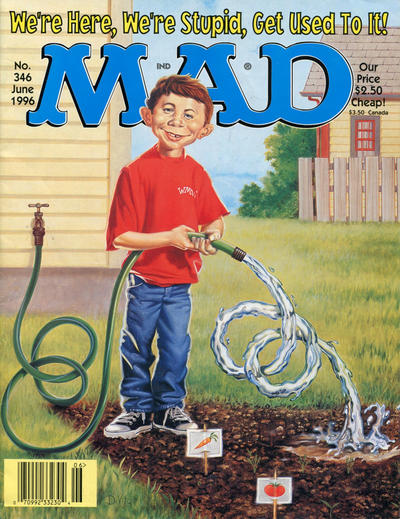 Cover for MAD (EC, 1952 series) #346