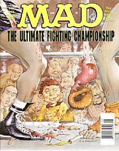 Cover for MAD (EC, 1952 series) #348
