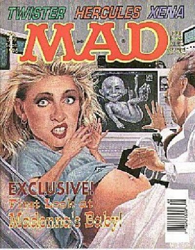 Cover for MAD (EC, 1952 series) #349