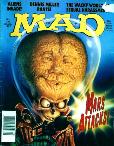 Cover for MAD (EC, 1952 series) #353