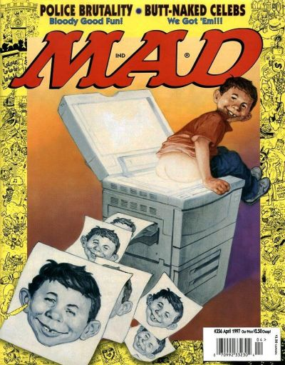 Cover for MAD (EC, 1952 series) #356