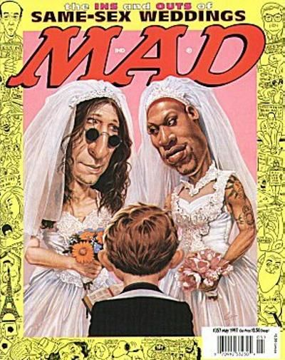 Cover for MAD (EC, 1952 series) #357