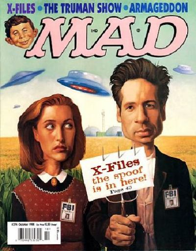 Cover for MAD (EC, 1952 series) #374
