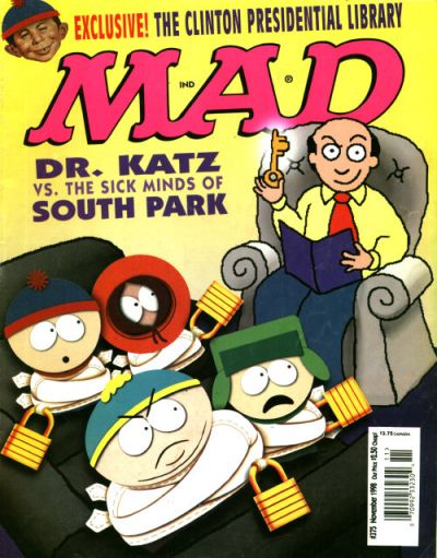 Cover for MAD (EC, 1952 series) #375
