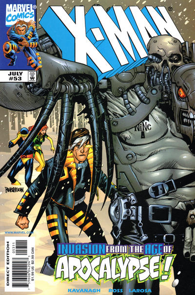 Cover for X-Man (Marvel, 1995 series) #53 [Direct Edition]