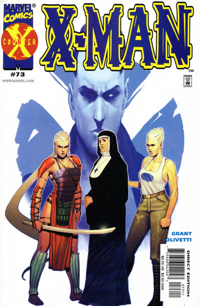 Cover for X-Man (Marvel, 1995 series) #73