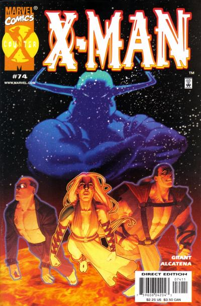 Cover for X-Man (Marvel, 1995 series) #74