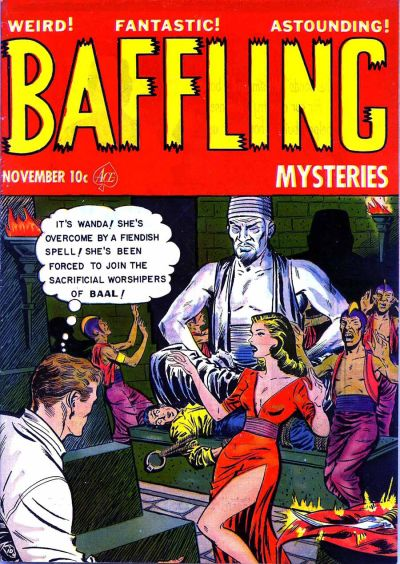 Cover for Baffling Mysteries (Ace Magazines, 1951 series) #11