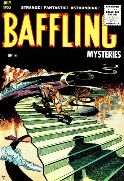 Cover for Baffling Mysteries (1951 series) #25