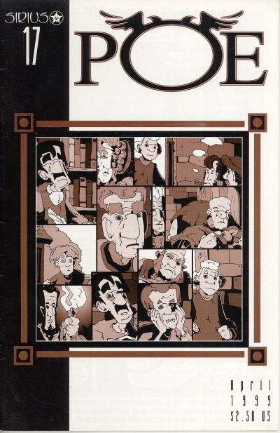 Cover for Poe (SIRIUS Entertainment, 1997 series) #17