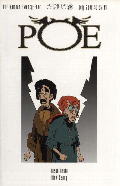 Cover for Poe (SIRIUS Entertainment, 1997 series) #24